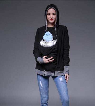 Item Hunters Smart Mom - Multi-Function Kangaroo Hoodie