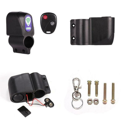 luckystore258 Anti-Theft Bicycle Wireless Alarm