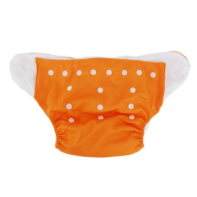 songyupeng1 Gold 5 Diapers & 5 Inserts Adjustable/Reusable Cloth Diaper