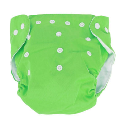 songyupeng1 Green 5 Diapers & 5 Inserts Adjustable/Reusable Cloth Diaper