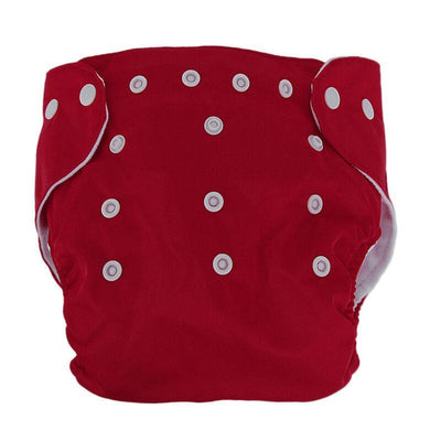 songyupeng1 Red 5 Diapers & 5 Inserts Adjustable/Reusable Cloth Diaper