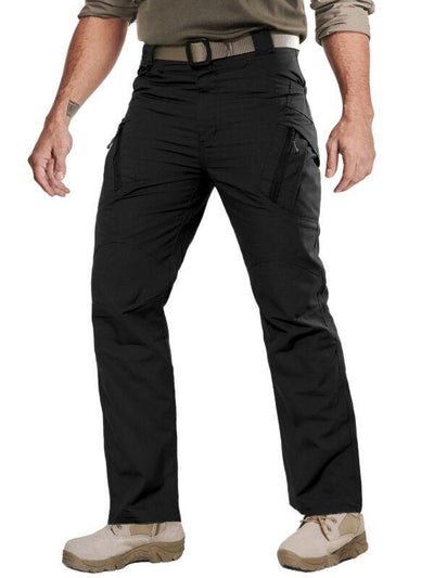 tacvasen Black / 30'' (Tag size M) Tech Tac Trousers - Tactical Pants For The Modern Warrior