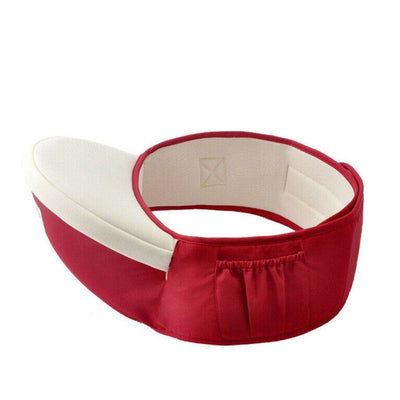 zhengqil_0 Wine Red Hip-Baby Child Waist Seat
