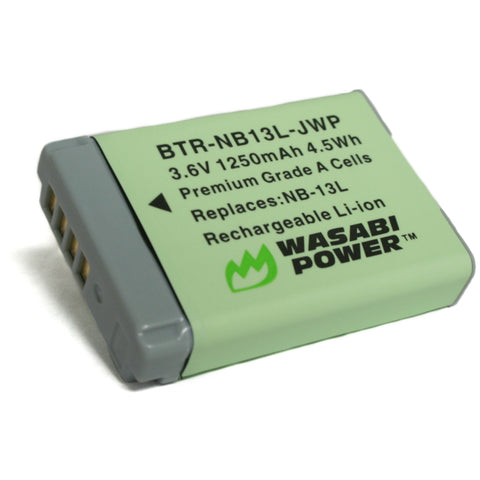 Canon NB-13L Battery by Wasabi Power