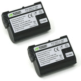 Wasabi Power Battery for Nikon EN-EL15 (2-Pack)