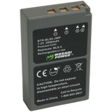 Olympus BLS-5, BLS-50, PS-BLS5 Battery by Wasabi Power