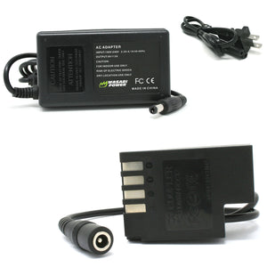 Panasonic DMW-BLF19 AC Power Adapter Kit with DC Coupler for Panasonic DMW-DCC12, DMW-AC8, DMW-AC10 by Wasabi Power