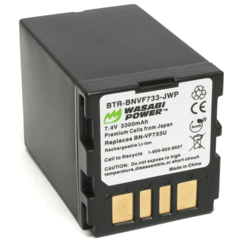 JVC BN-VF733 Battery by Wasabi Power