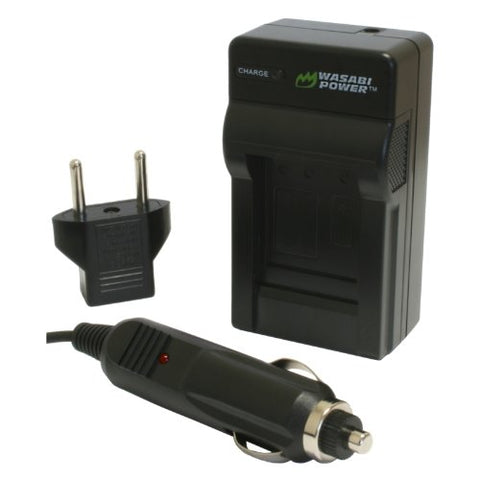 Samsung SLB-10A Charger by Wasabi Power