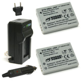 Canon NB-5L Battery (2-Pack) and Charger by Wasabi Power