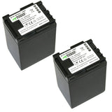 Canon BP-827 Battery (2-Pack) by Wasabi Power