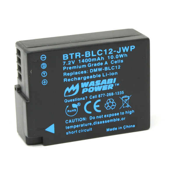 Leica BP-DC12 Battery by Wasabi Power