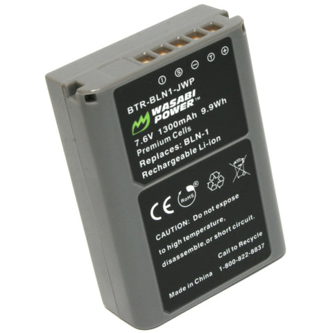 Olympus BLN-1, BCN-1 Battery by Wasabi Power