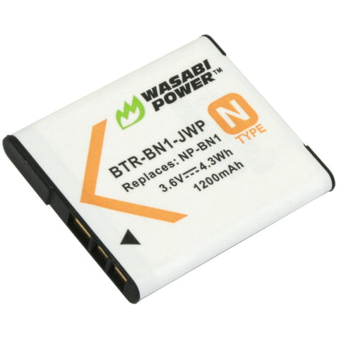 Sony NP-BN1 Battery by Wasabi Power
