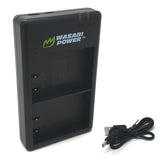 Panasonic DMW-BLK22 Dual Charger by Wasabi Power