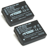 Panasonic DMW-BCG10 Battery (2-Pack) by Wasabi Power