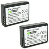 Canon LP-E10 Battery (2-Pack) by Wasabi Power