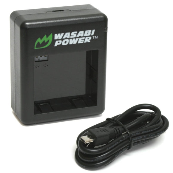 YI Action Camera Dual Charger by Wasabi Power