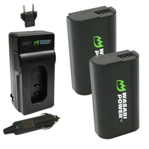 Panasonic DMW-BLJ31 Battery (2-Pack) and Charger by Wasabi Power