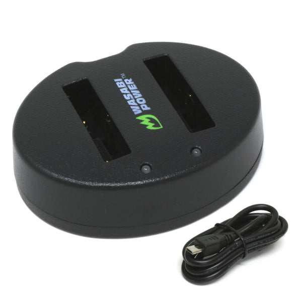 Fujifilm NP-70 USB Dual Charger by Wasabi Power