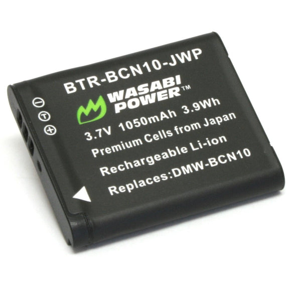 Panasonic DMW-BCN10 Battery by Wasabi Power