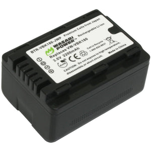 Panasonic VW-VBL090, VW-VBK180 Battery by Wasabi Power