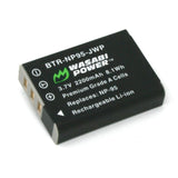 Wasabi Power Battery for Fujifilm NP-95 and Fuji FinePix REAL 3D W1, X100, X100S, X-S1