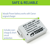 Canon LP-E8 Battery by Wasabi Power