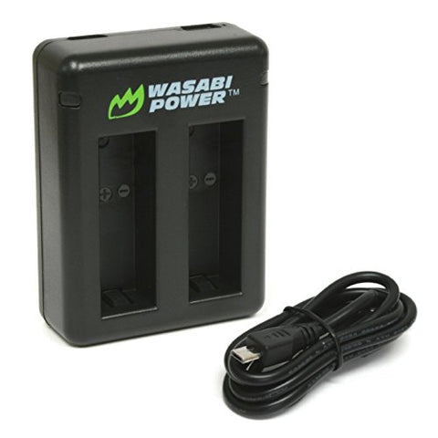 GoPro HERO9 Black Dual USB Charger by Wasabi Power
