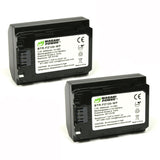 Sony NP-FZ100 Battery (2-Pack) by Wasabi Power