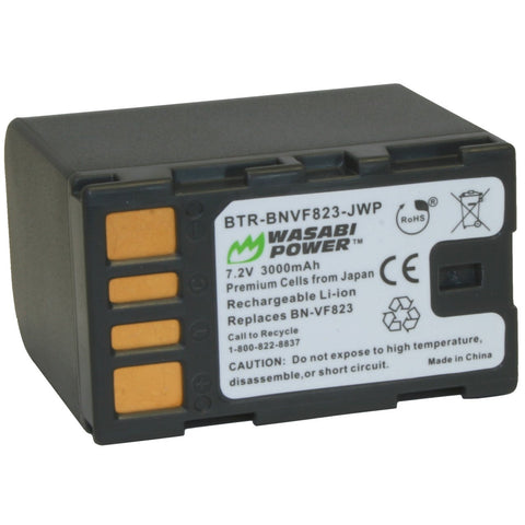 JVC BN-VF823, BN-VF823U, BN-VF823USP Battery by Wasabi Power