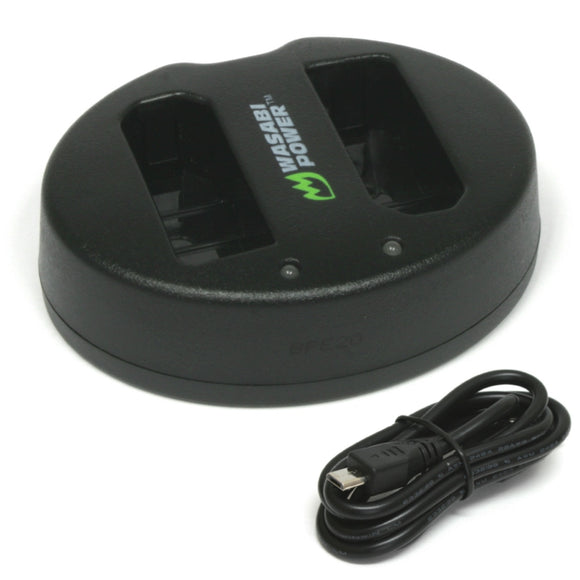 Ricoh DB-60 USB Dual Charger by Wasabi Power