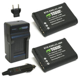 Wasabi Power Battery (2-Pack) and Charger for Nikon EN-EL23
