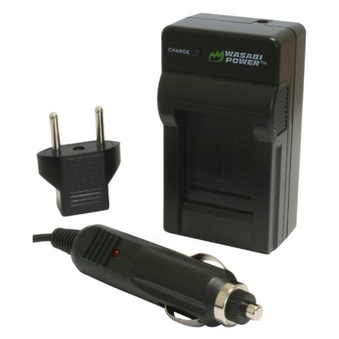 Panasonic CGA-S005, DMW-BCC12 Charger by Wasabi Power