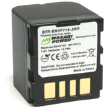 JVC BN-VF707, BN-VF714 Battery by Wasabi Power