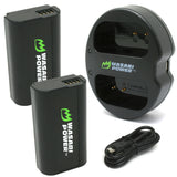 Panasonic DMW-BLJ31 Battery (2-Pack) and Dual Charger by Wasabi Power