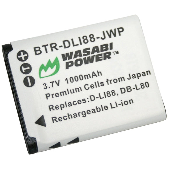 Pentax D-LI88, D-L188 Battery by Wasabi Power