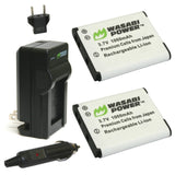 Sony NP-BJ1 Battery (2-Pack) and Charger by Wasabi Power