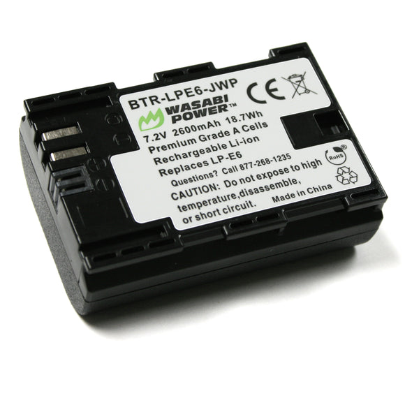 Canon LP-E6, LP-E6N Battery by Wasabi Power