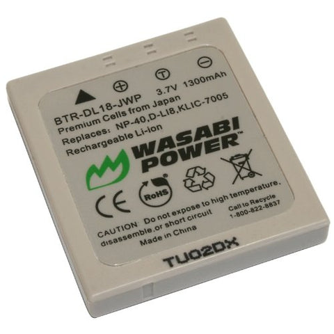 Samsung SLB-0737, SLB-0837 Battery by Wasabi Power