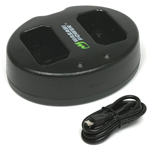 Sony NP-FW50 Dual Charger by Wasabi Power