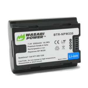 Fujifilm NP-W235 Battery by Wasabi Power