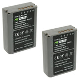 Olympus BLN-1, BCN-1 Battery (2-Pack) by Wasabi Power
