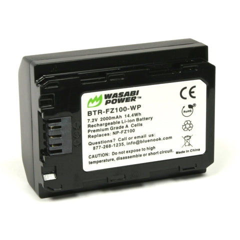 Sony NP-FZ100 Battery by Wasabi Power