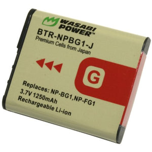 Sony NP-BG1, NP-FG1 Battery by Wasabi Power