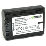 Sony NP-FH50 Battery by Wasabi Power