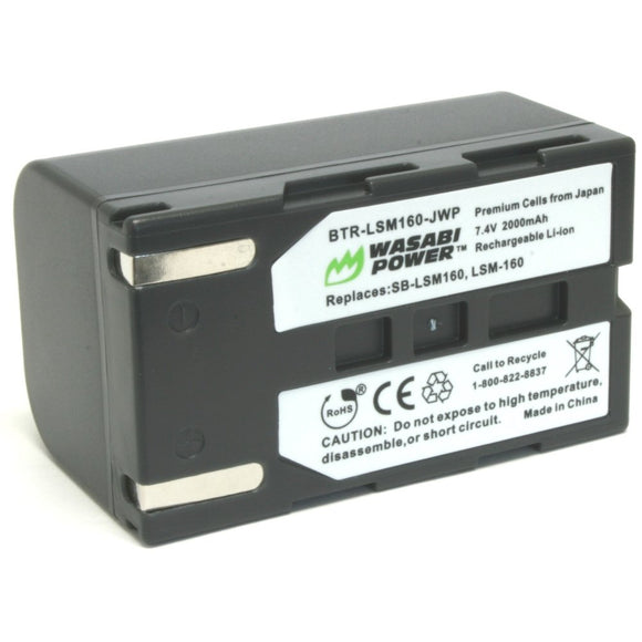 Samsung SB-LSM160 Battery by Wasabi Power