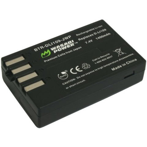 Pentax D-LI109 Battery by Wasabi Power