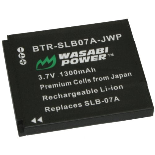 Samsung SLB-07, SLB-07A, SLB-07B Battery by Wasabi Power