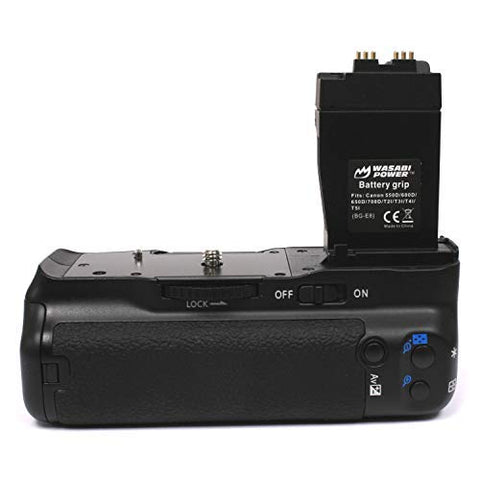 Canon BG-E8 for Canon LP-E8 Battery Grip by Wasabi Power